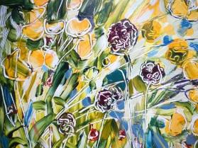 Painting detail - ©Flora Doehler