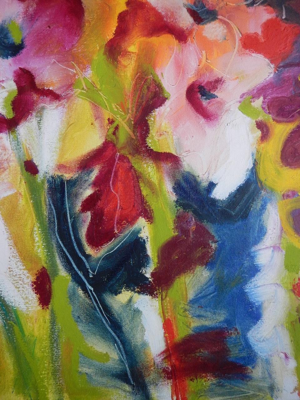 painting detail, Flora Doehler