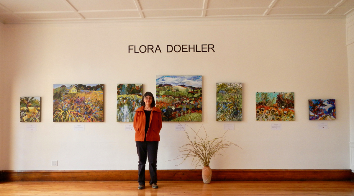 My Rural Landscape Paintings on Display in Nova Scotia
