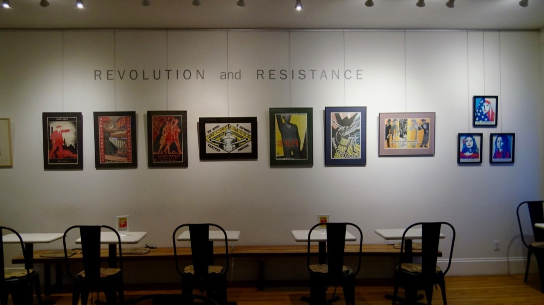 REVOLUTION and RESISTANCE exhibition
