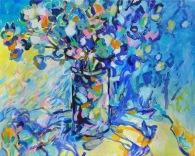 "Indecision © Flora Doehler, 2018 Acrylic on Canvas 30"" 24"" $900"