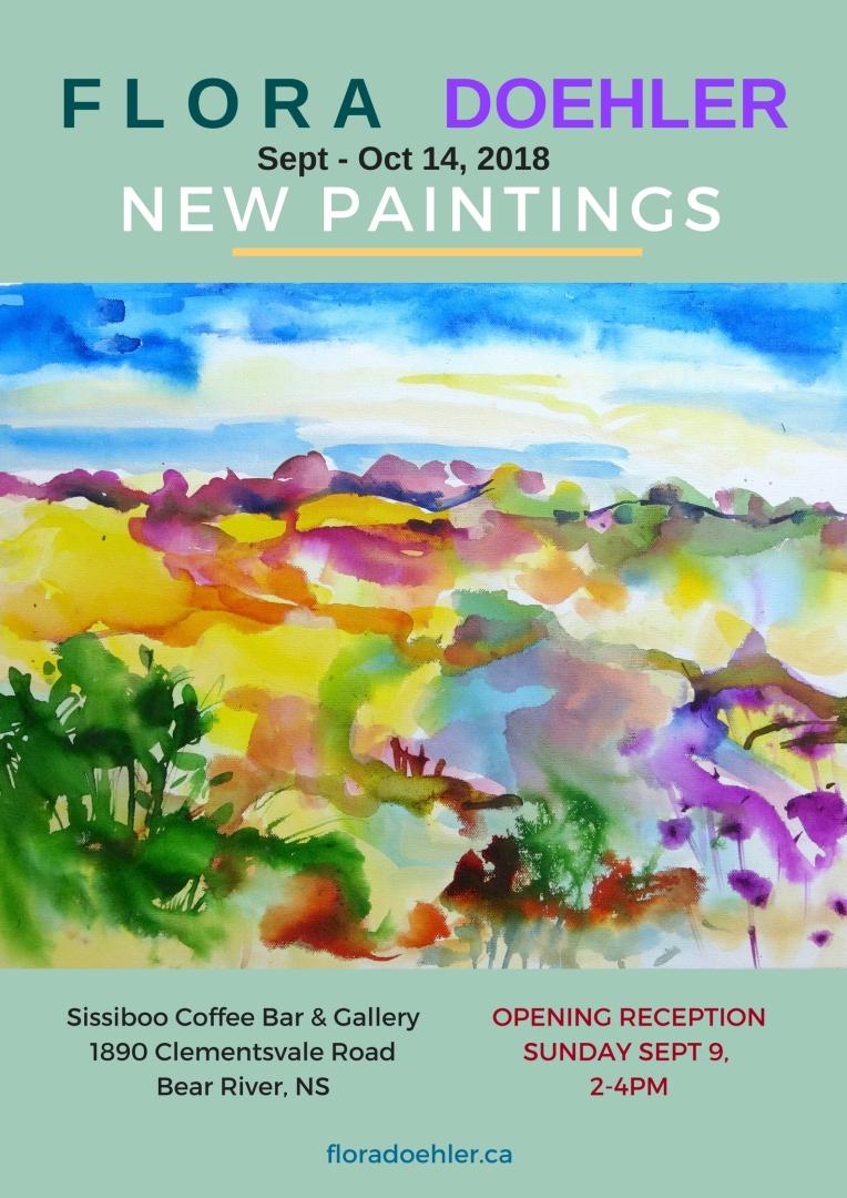 New Paintings Sissiboo