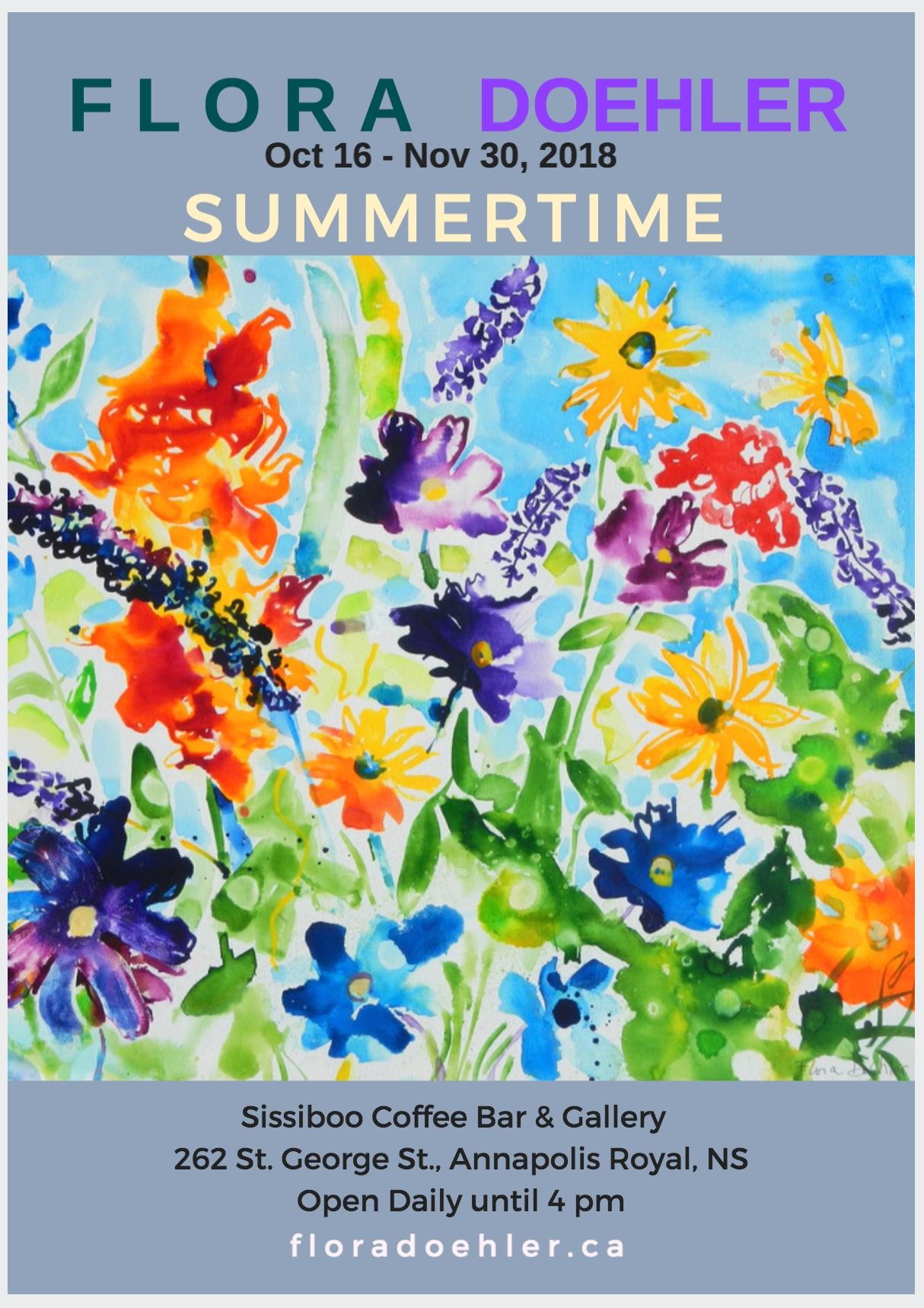 summertime Paintings Sissiboo