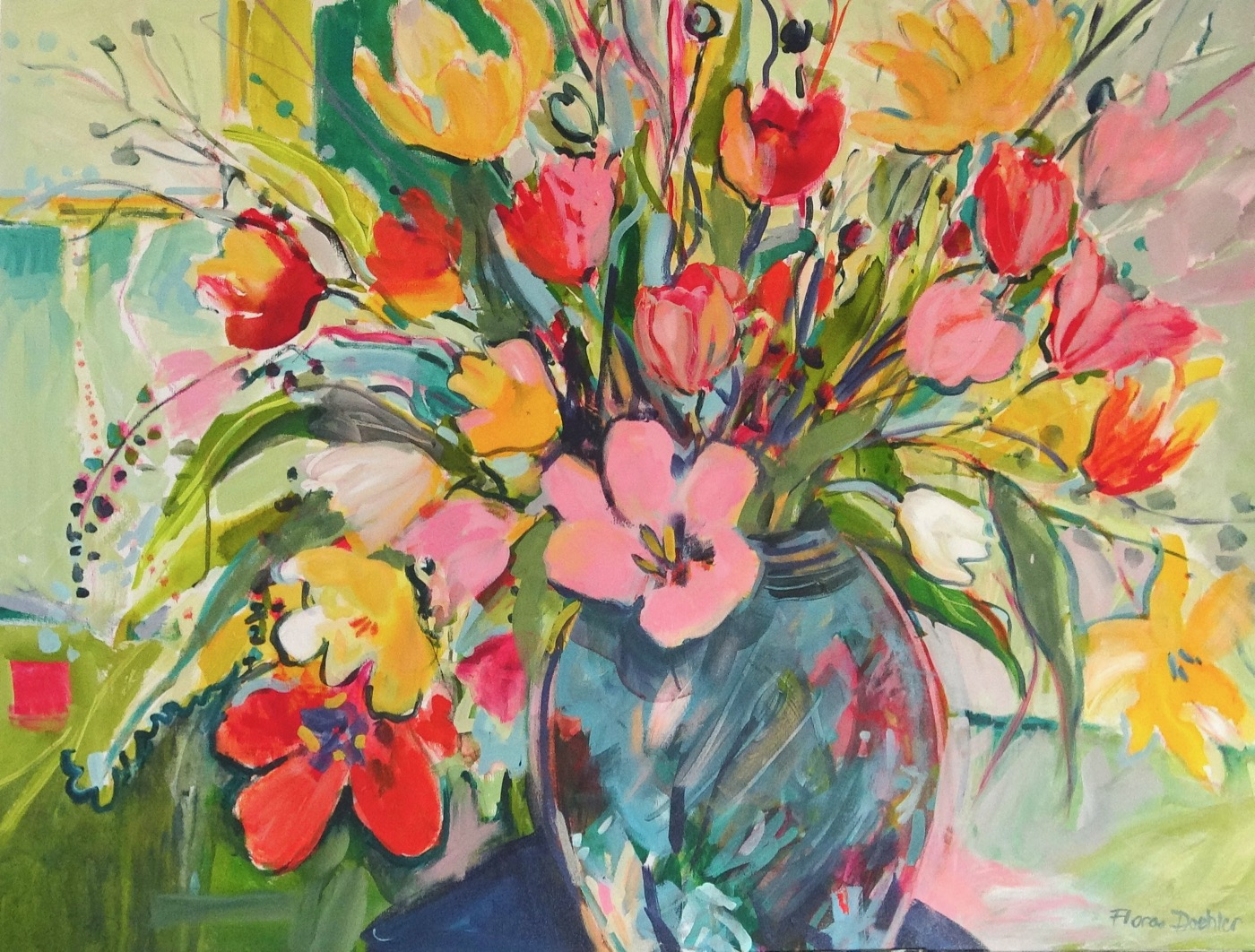 Painting Tulips in a Room of One's Own