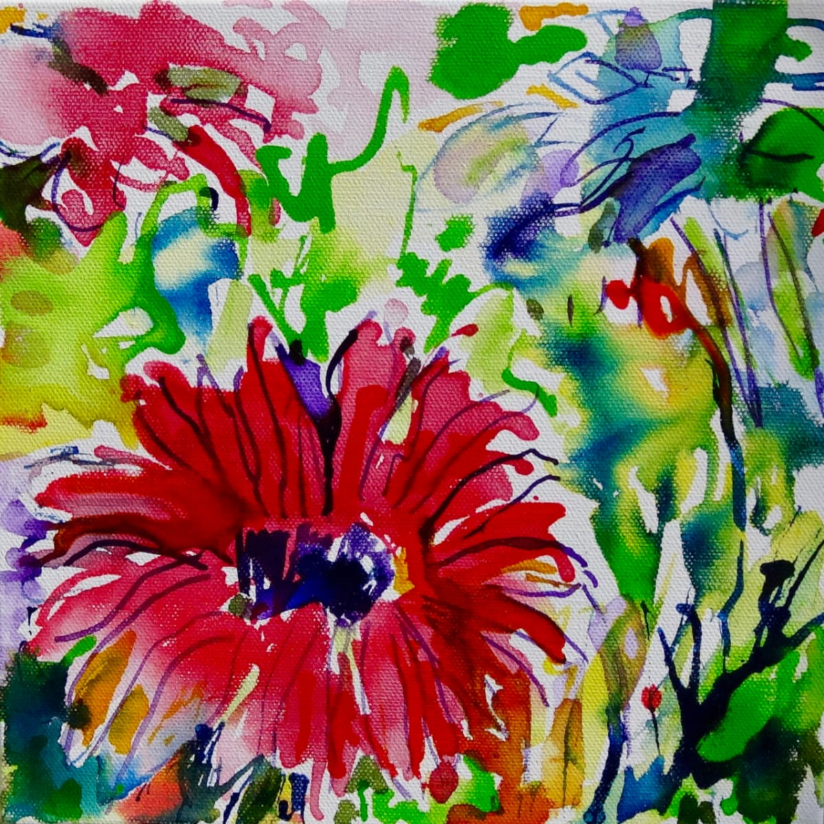 Reimagining the Garden – Painting with Ink