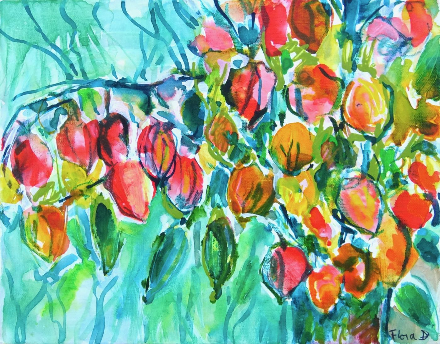 Thanksgiving Coffee and Final Weekend of Art Show – Sat Oct 10, 2 – 4 pm