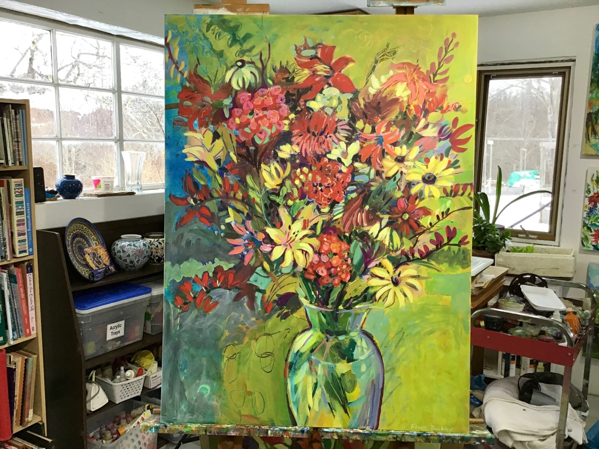 Rethinking a Painting, One Step at a Time